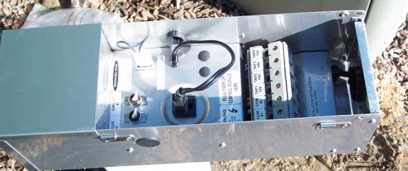 low voltage transformer installation