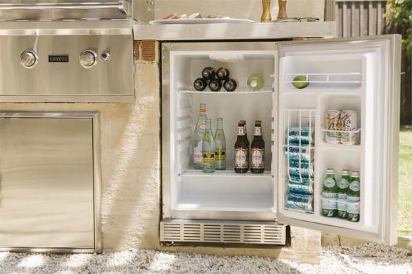 built in outdoor refrigeration
